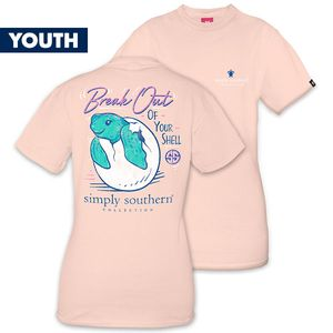 Break Out of Your Shell YOUTH Short Sleeve Tee by Simply Southern
