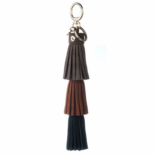 Brown & Black Triple Bag Charm by Spartina 449