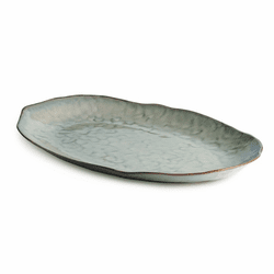 Burlington Moss Glen Large Oval Platter by Simon Pearce