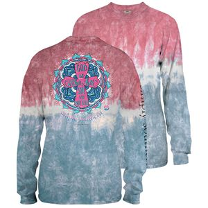 Burst Tiedye Will Not Fail Long Sleeve Tee by Simply Southern