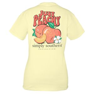 Butter Peachy Short Sleeve Tee by Simply Southern