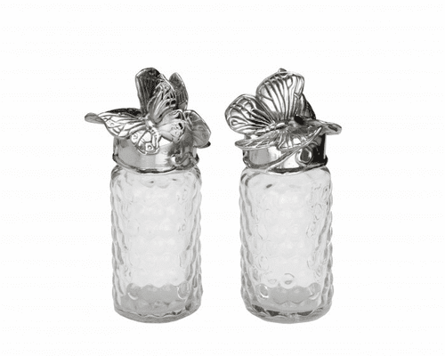 Butterfly Salt & Pepper Set by Arthur Court - Special Order (Available February 2020)