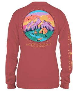 Camp Spice Long Sleeve Tee by Simply Southern