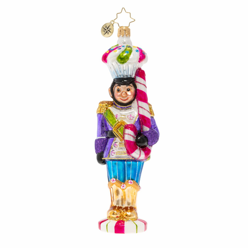 Candy Cadet Ornament by Christopher Radko