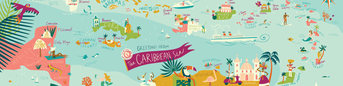 Caribbean Islands Collection by Spartina 449