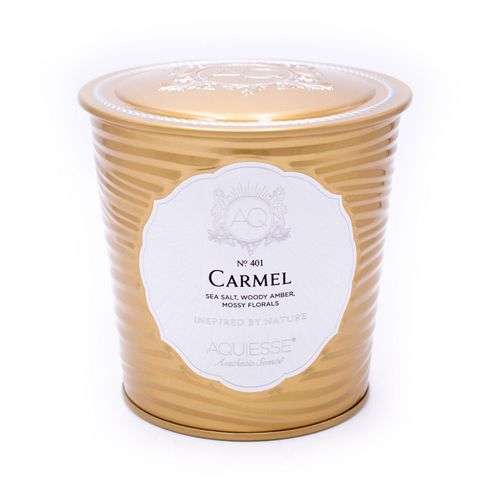 Carmel Portfolio Tin Candle with Matchbook