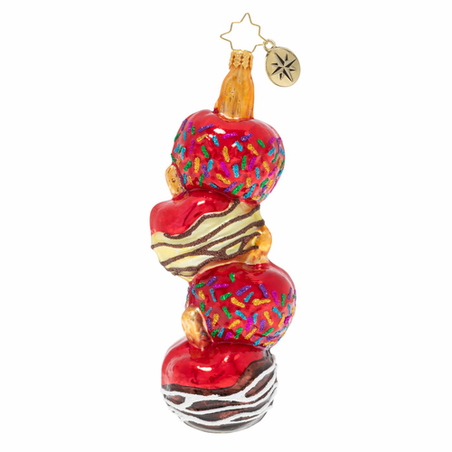 Cascading Candy Apples Ornament by Christopher Radko