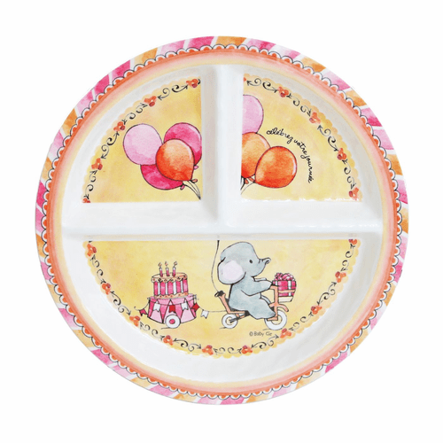 Celebrate Your Day Sectioned Plate by Baby Cie