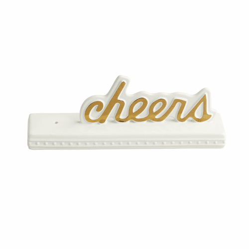 Cheers Sign - Nora Fleming