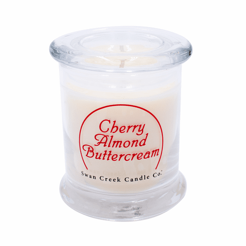 Cherry Almond Buttercream Clean & Contemporary 9 oz. Swan Creek Candle