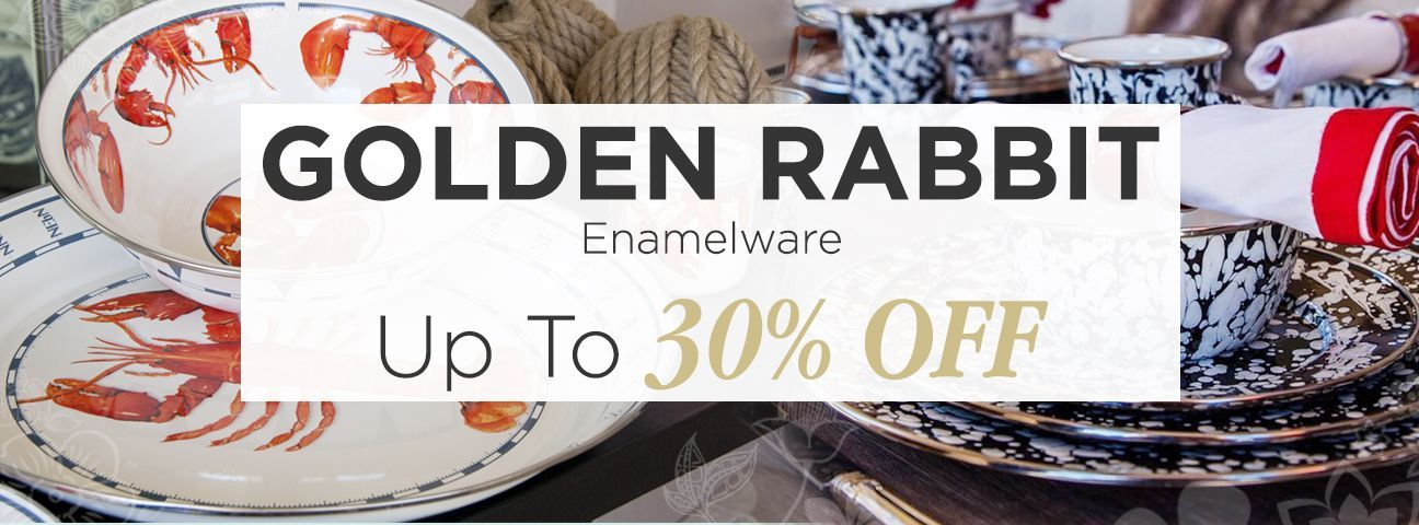 Children's Enamelware by Golden Rabbit