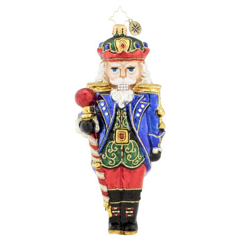 Commander of the Nutcrackers Ornament by Christopher Radko