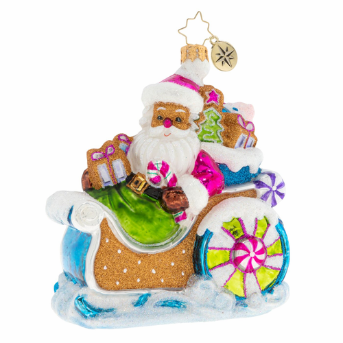 Confectionery Claus Ornament by Christopher Radko