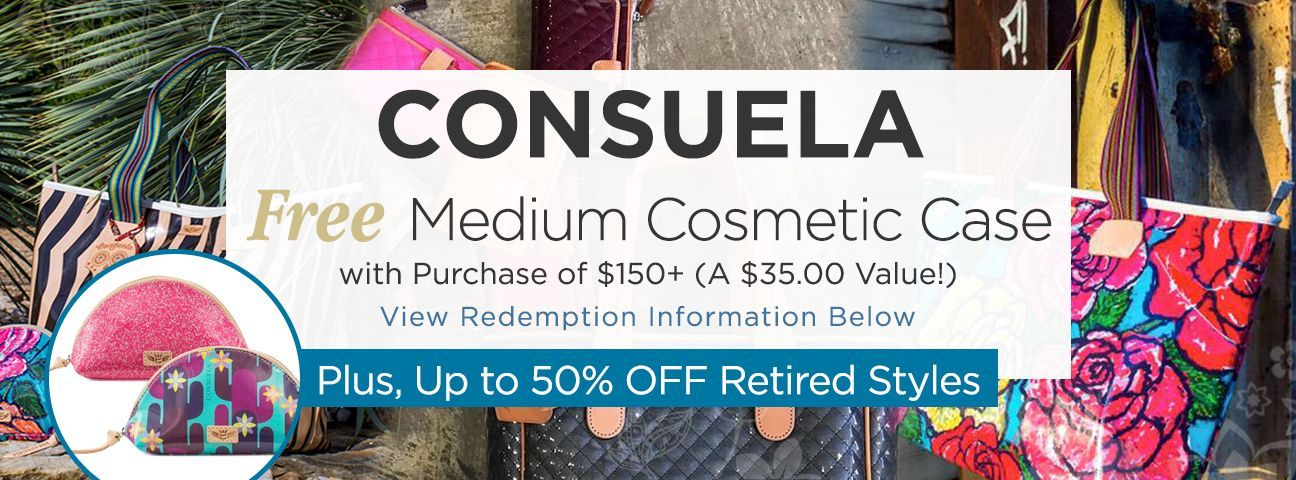 Medium Cosmetic Cases by Consuela