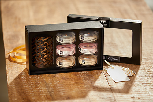 WoodWick Candle Core Deluxe Gift Set