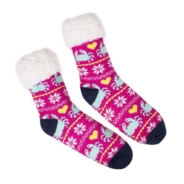 Simply Southern Camper Socks New Crabs