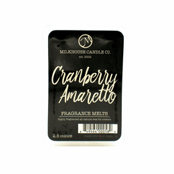 Cranberry Amaretto 2.5 oz. Fragrance Melts by Milkhouse Candle Creamery
