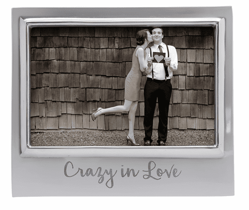 """""""Crazy In Love"""" 4x6 Signature Frame by Mariposa"""
