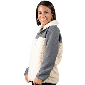 Cream Fleece Pullover by Simply Southern