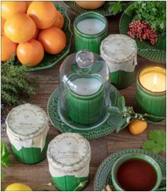 Crockery Candles by Park Hill Collection