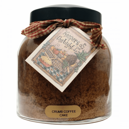 Crumb Coffee Cake 34 oz. Papa Jar Keepers of the Light Candle by A Cheerful Giver