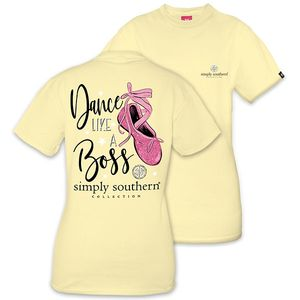 Dance Like a Boss Short Sleeve Tee by Simply Southern