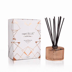 Dark Vanilla and Sandalwood 7.75 oz. Gilded Reed Diffuser by Capri Blue