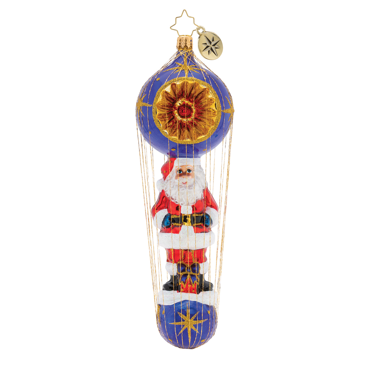 Christopher Radko Dashing Santa Delivery Ornament