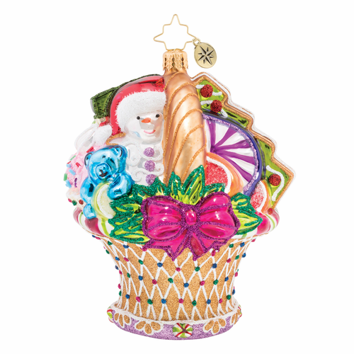 Delicious Delights Ornament by Christopher Radko