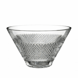 "Diamond Line 10"" Bowl by Waterford"