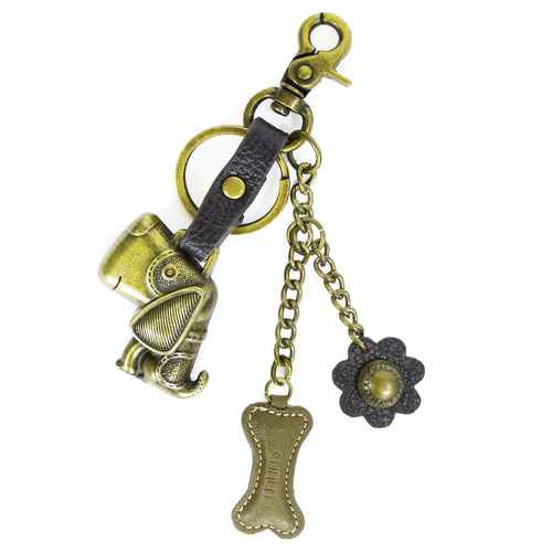Dog Charming Key Chain by Chala
