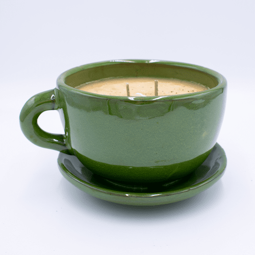 Dolce Spice Latte Large Stoneware Coffee Cup Swan Creek Candle