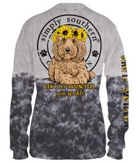 Don't Let Anyone Dull Your Sparkle Smokey Long Sleeve Tee by Simply Southern