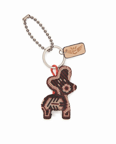 Donkito Brown Charm & Keychain by Consuela