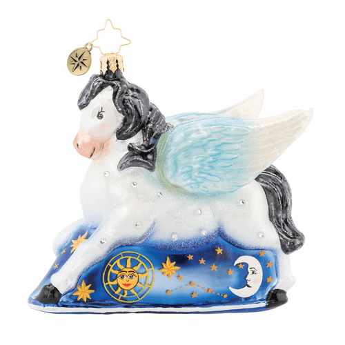 Dreaming of Pegasus Ornament by Christopher Radko