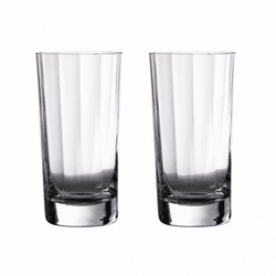 Elegance Optic Gin Hiball Pair by Waterford