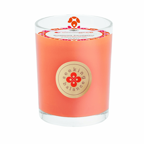 Root Candles Seeking Balance 6.5 oz Scented Candle Entice Orange Clove