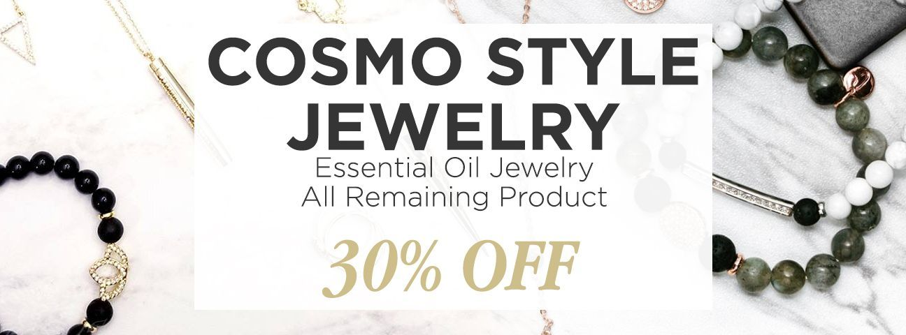 Essential Oil Diffuser Jewelry by Cosmo Style Jewelry