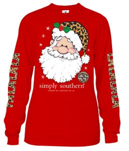 Fa La La La Santa Long Sleeve Tee by Simply Southern
