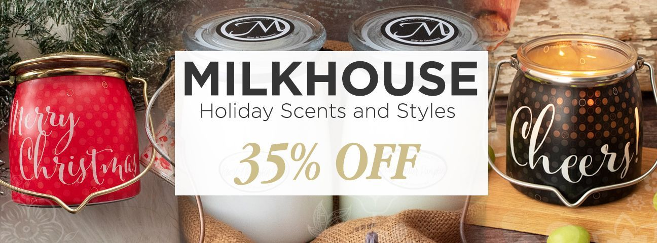 Fall & Holiday Limited Edition  by Milkhouse Candle Creamery