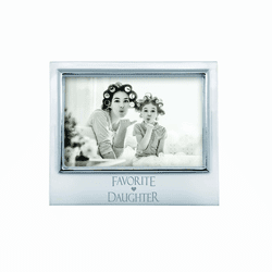 "Favorite Daughter 4x6"" Signature Frame by Mariposa"