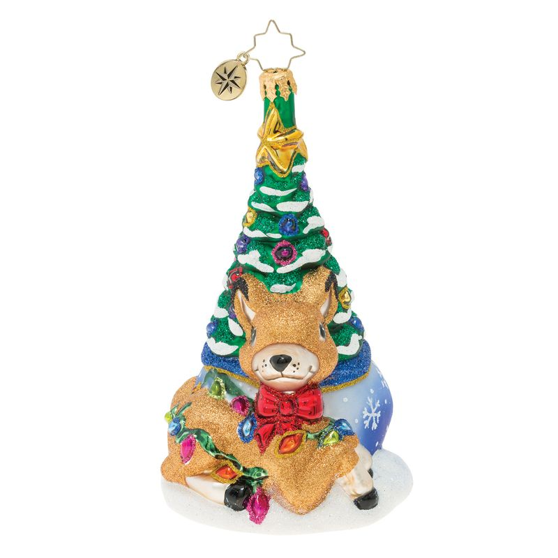 Christopher Radko Fawn-ing Over The Christmas Tree! Ornament