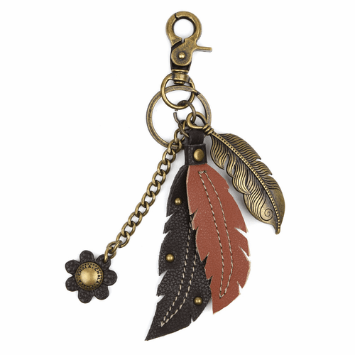 Feather Charming Key Chain by Chala