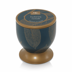 Flickering Fireside Gallerie Tin WoodWick Candle