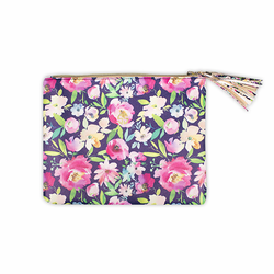 Floral Brush Bag by Simply Southern