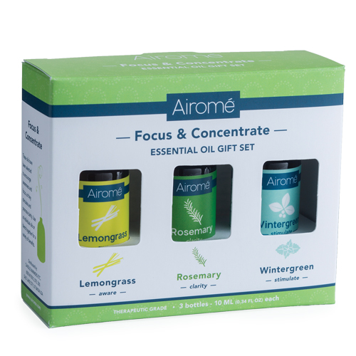 Focus & Concentrate Essential Oil Gift Set