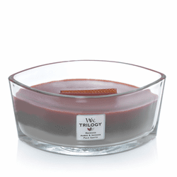 Forest Retreat WoodWick Trilogy Candle 16 oz. Hearthwick Flame