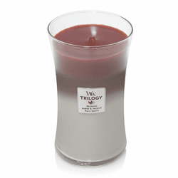 Forest Retreat WoodWick Trilogy Candle 22 oz.
