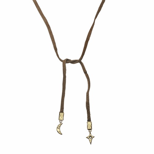 "Frequency Leather Chain - 24"" by Waxing Poetic"