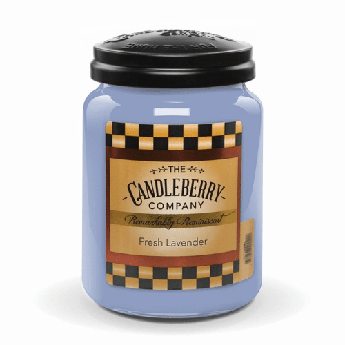 Fresh Lavender 26 oz Large Jar Candleberry Candle